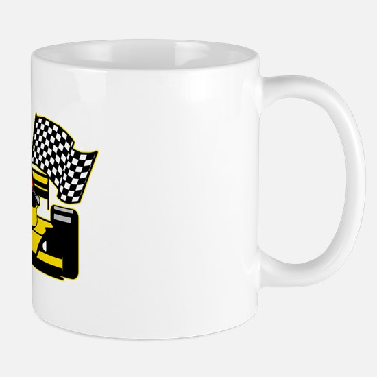 YELLOW RACECAR Mug