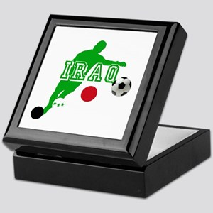 Iraq Football Player Keepsake Box