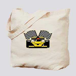 YELLOW RACECAR Tote Bag