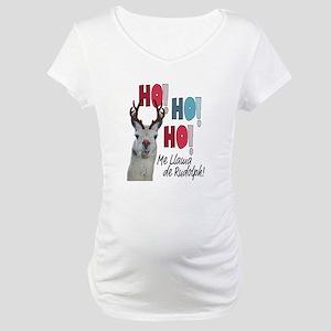 Me Llama de Rudolph Maternity T-Shirt
