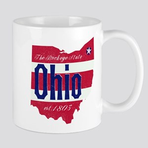 Ohio State Flag Gift Mugs
