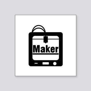3D printer Maker Sticker