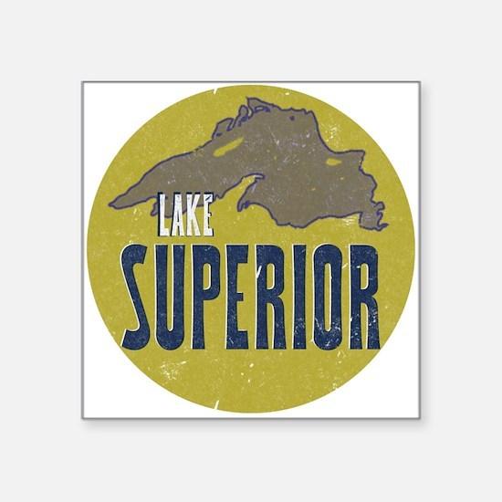 Lake Superior Circle Sticker