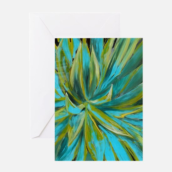 Tropical Lotus Delight Greeting Cards
