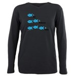 Counting In Tagalog Plus Size Long Sleeve Tee