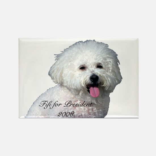 Funny My bichon frise Rectangle Magnet