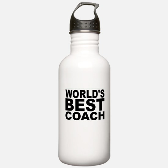 Worlds Best Coach Water Bottle