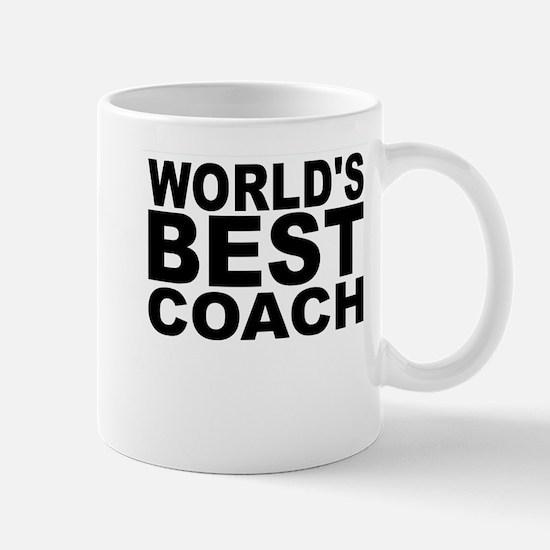 Worlds Best Coach Mugs