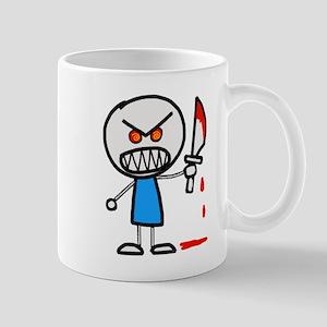 Psycho Stick figure Mugs