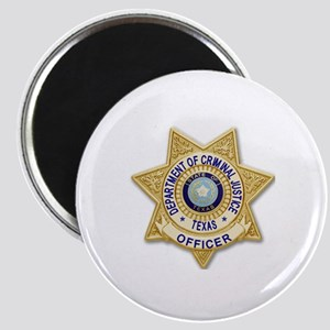 TDCJ Badge Magnet