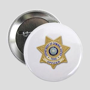 "TDCJ Badge 2.25"" Button"
