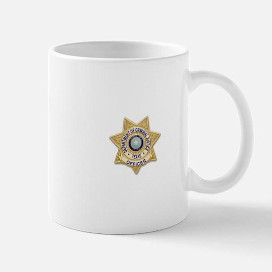 TDCJ Badge Mugs