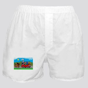 Wolfy and pals Boxer Shorts