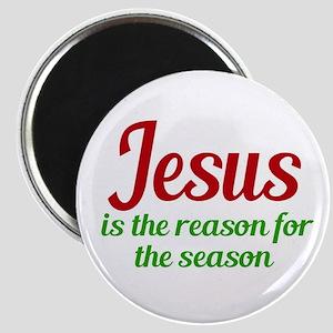 Jesus Season Magnet