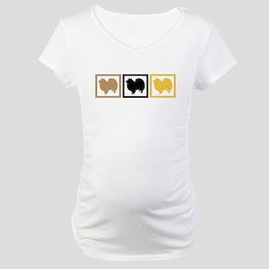 American Eskimo Dog Maternity T-Shirt