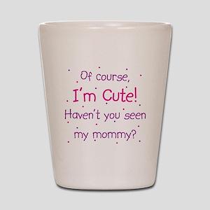 Cute Mommy Shot Glass