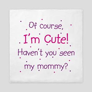 Cute Mommy Queen Duvet