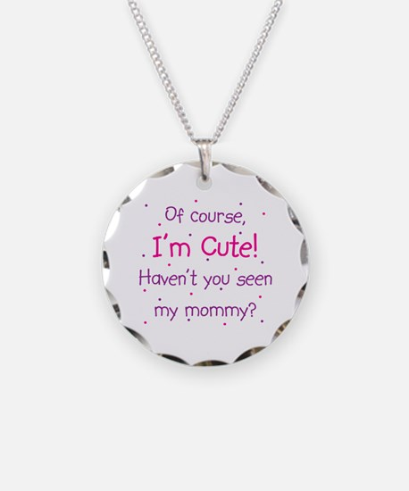 Cute Mommy Necklace