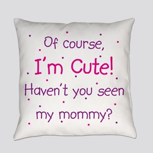 Cute Mommy Everyday Pillow
