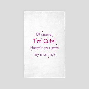 Cute Mommy Area Rug