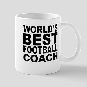 Worlds Best Football Coach Mugs