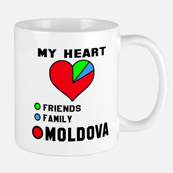 My Heart Friends, Family and Mol Mug