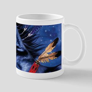 Fantasy Black Horse Mugs