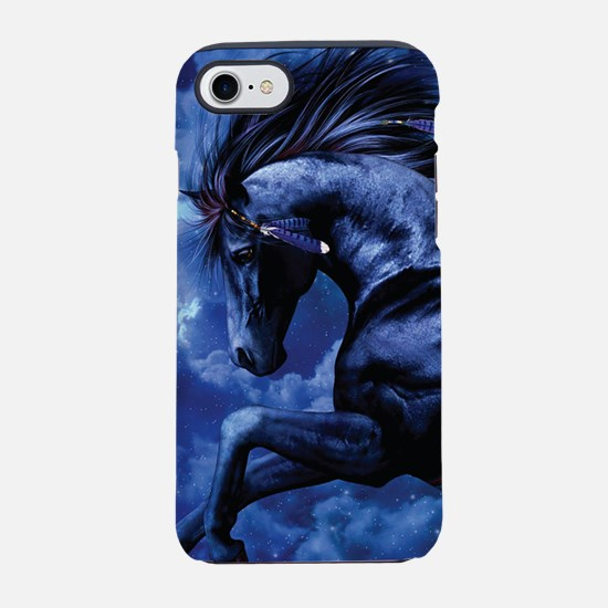 Fantasy Black Horse iPhone 8/7 Tough Case