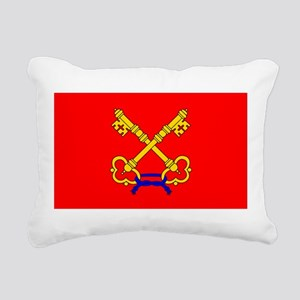Papal States Rectangular Canvas Pillow