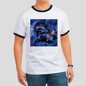 Fantasy Black Horse T-Shirt