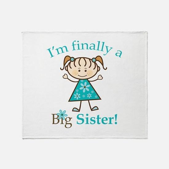 Big Sister Finally Throw Blanket
