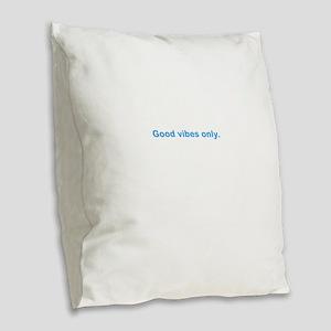 good Burlap Throw Pillow
