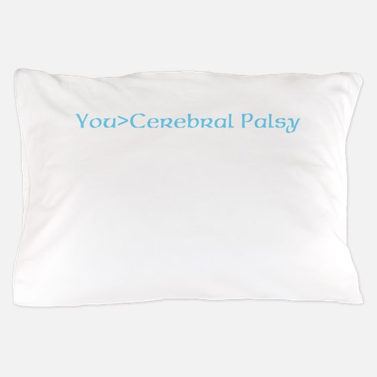 beat cerebral palsy Pillow Case
