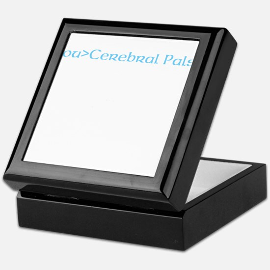 beat cerebral palsy Keepsake Box