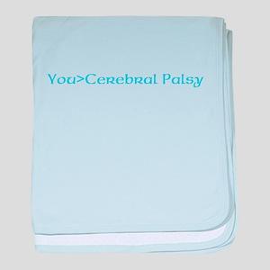 beat cerebral palsy baby blanket