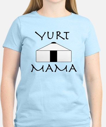 """Yurt Mama"" Women's Light T-Shirt"