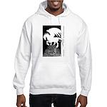 Pegasus - White Shadow Hooded Sweatshirt