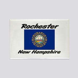 Rochester New Hampshire Rectangle Magnet