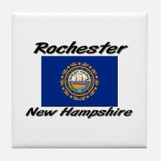 Rochester New Hampshire Tile Coaster
