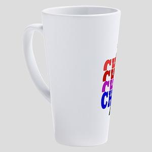 Chess Check 17 oz Latte Mug