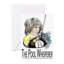 The Pool Whisperer Greeting Cards (Pk of 20)