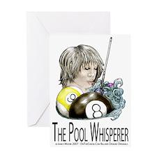 The Pool Whisperer Greeting Card