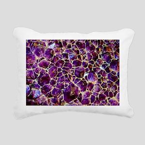 Earth Crystals Rectangular Canvas Pillow