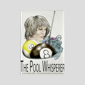 The Pool Whisperer Rectangle Magnet