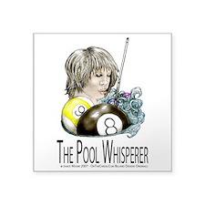 The Pool Whisperer Square Sticker 3