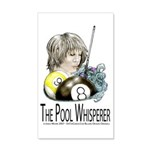 The Pool Whisperer 20x12 Wall Decal