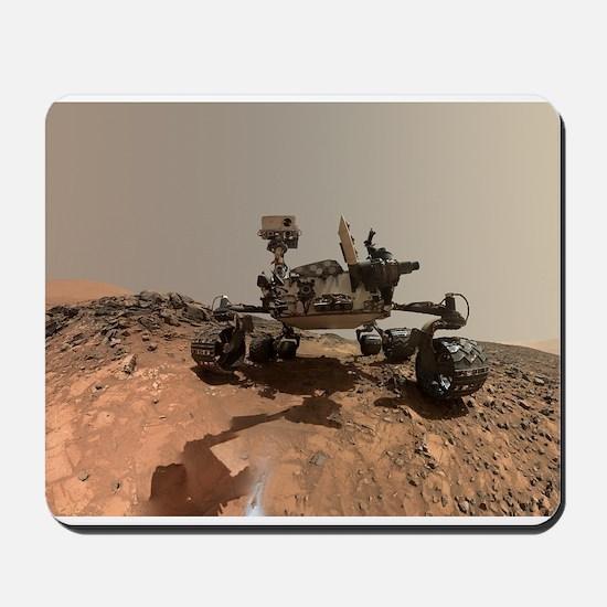 Mars Rover Curiosity Selfie Mousepad
