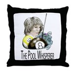 The Pool Whisperer Throw Pillow