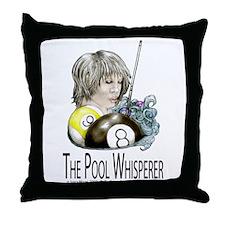 The Pool Whisperer Throw Pillow