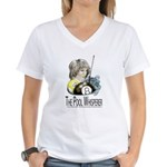The Pool Whisperer Women's V-Neck T-Shirt